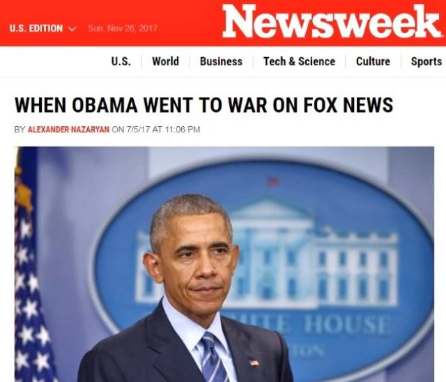 obama fox news war