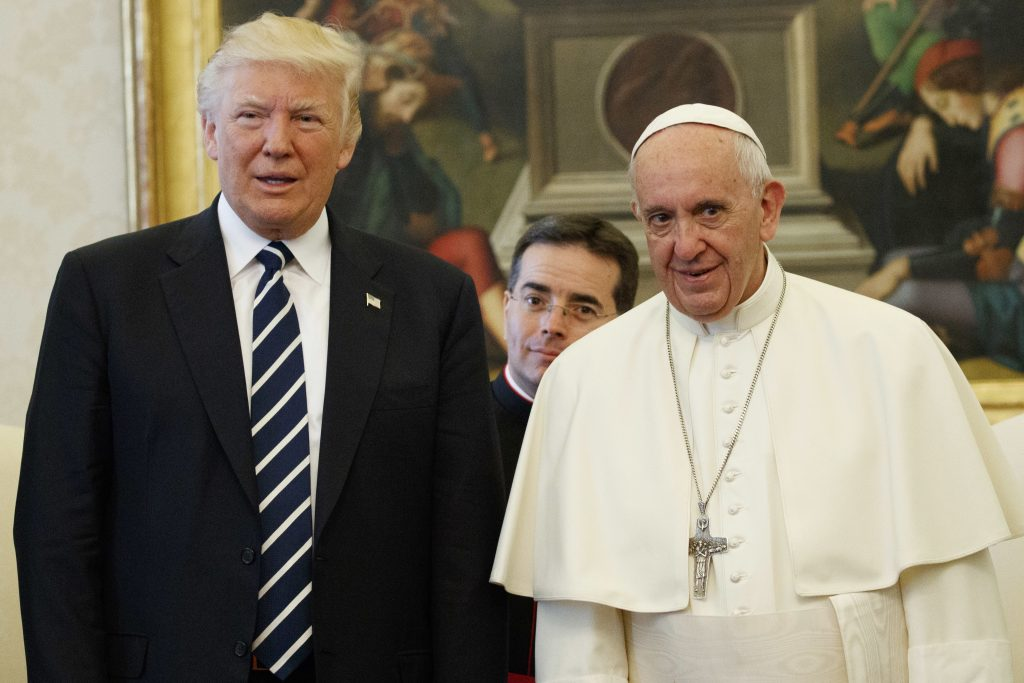 Pope Francis 'profoundly concerned' by Trump's recognition of Jerusalem as Israeli capital