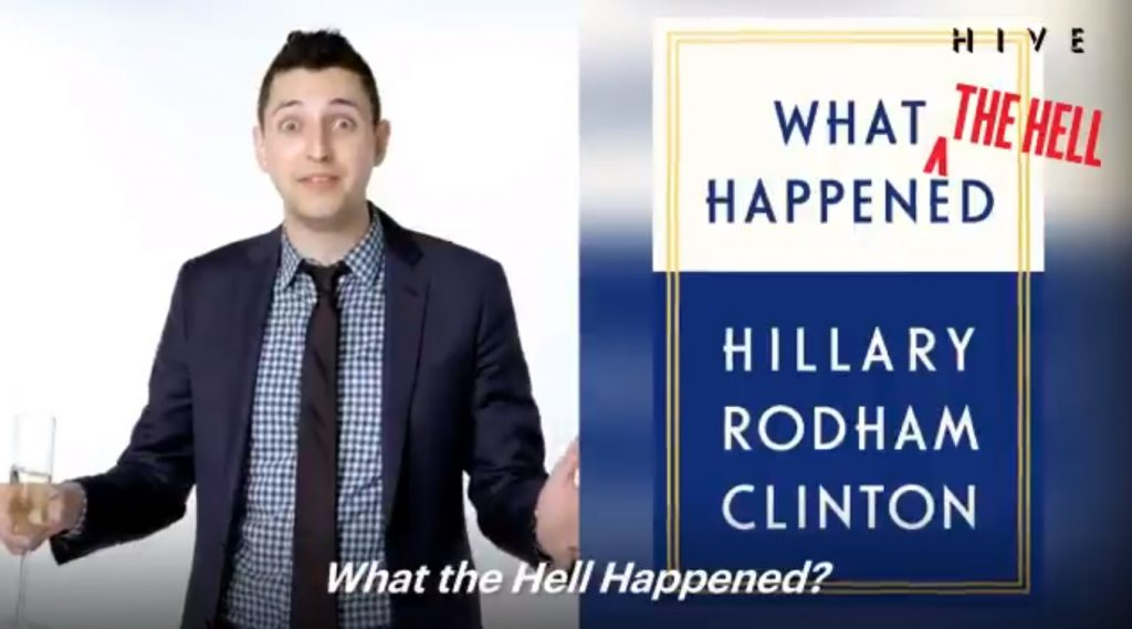 Vanity Fair under fire for video mocking Hillary Clinton