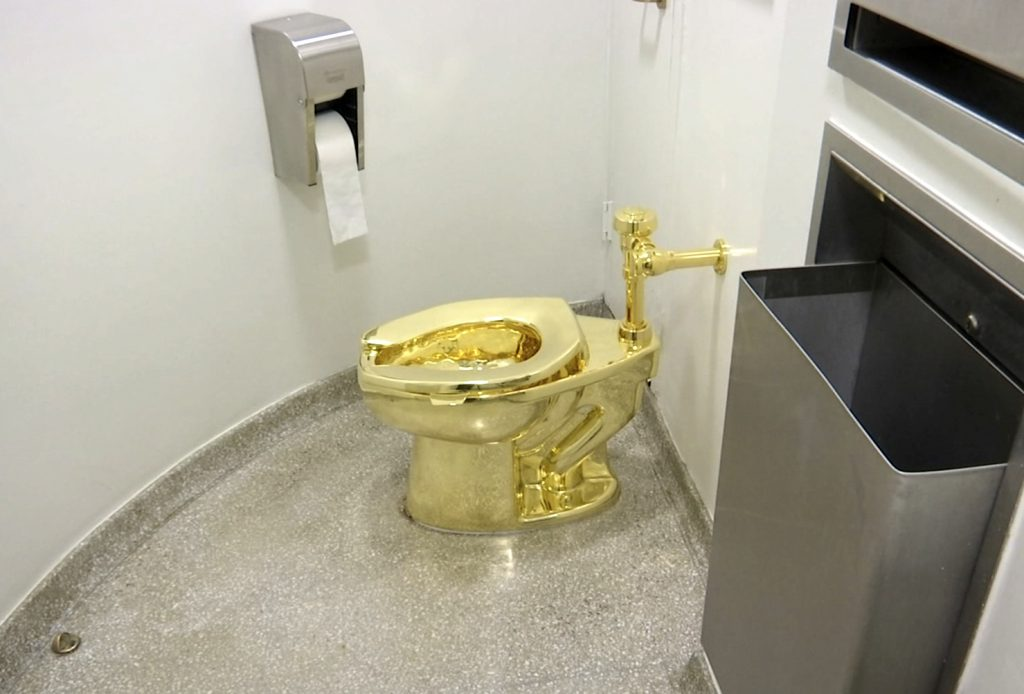 The Guggenheim offered to send the White House a gold toilet