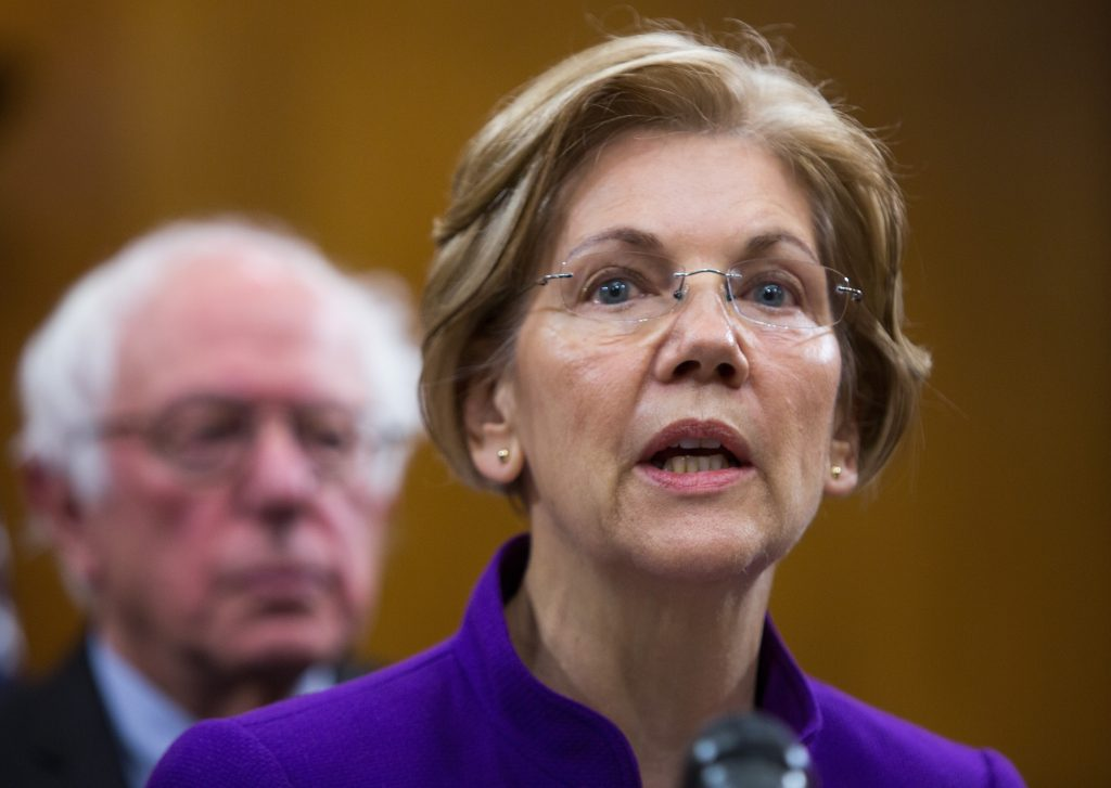 Here's how people reacted to Elizabeth Warren's speech