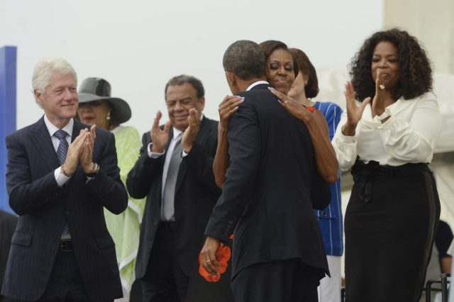 Getty Obama, Former Presidents Commemorate 50th Anniversary Of MLK's March On Washington