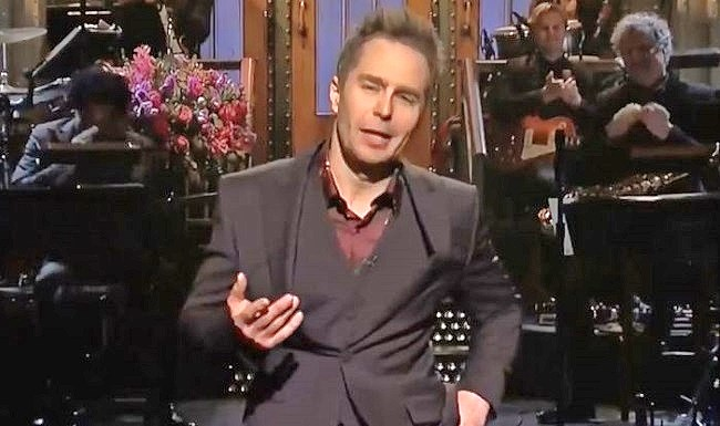 Sam Rockwell swears as a science TV star