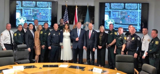 melania trump first responders