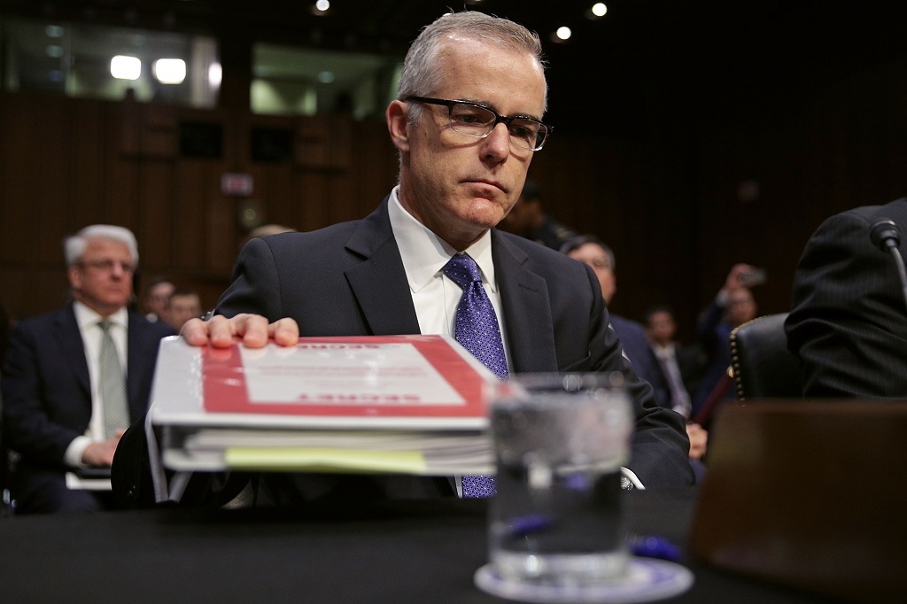 FBI's McCabe raises $500000 for legal fight against Trump
