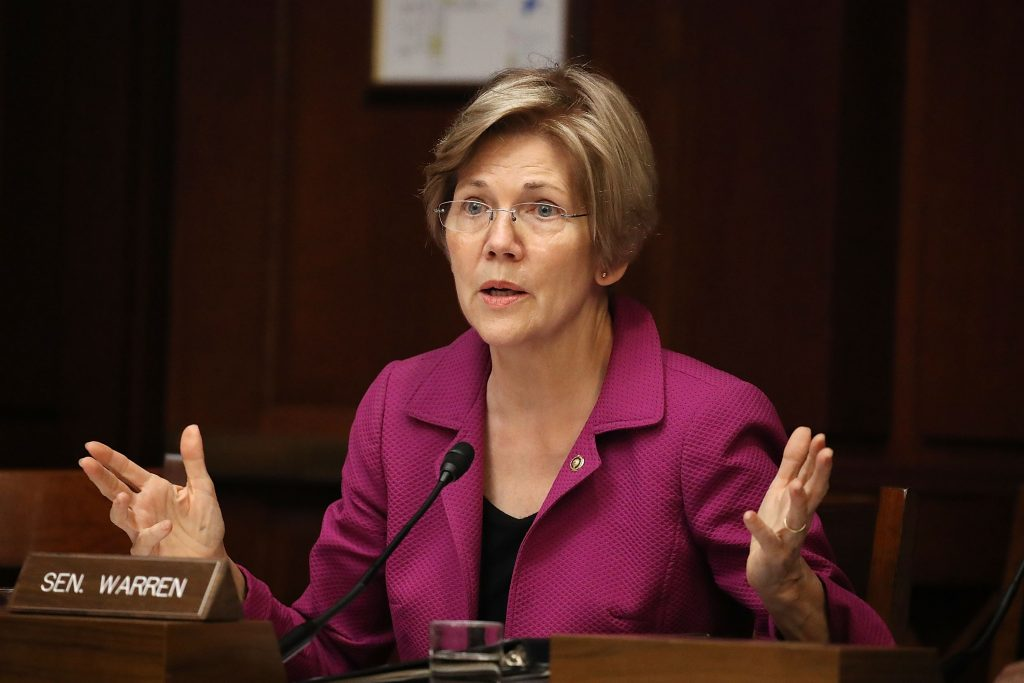 Elizabeth Warren Blasts Fellow Democrats for Supporting a Massive Bank Deregulation Bill