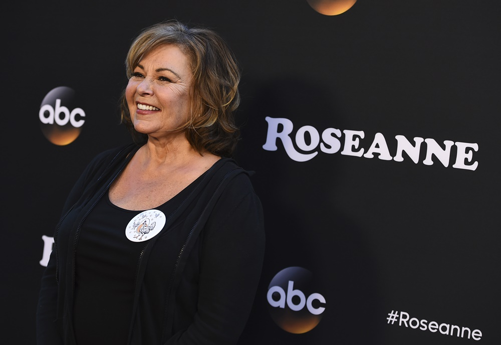 Roseanne Barr: 'I Think Trump's Stealing My Act'