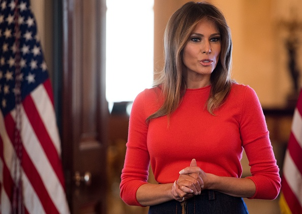 Melania Trump talks struggles, feelings with students in listening session