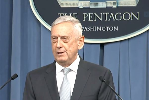 Mattis: US 'still assessing' suspected Syria chemical weapons attack