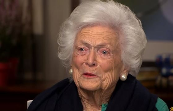 Warm wishes for Former First Lady Barbara Bush in