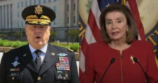 Pentagon tells reporter Milley 'reviewed lawful launch procedures' following call from Nancy Pelosi