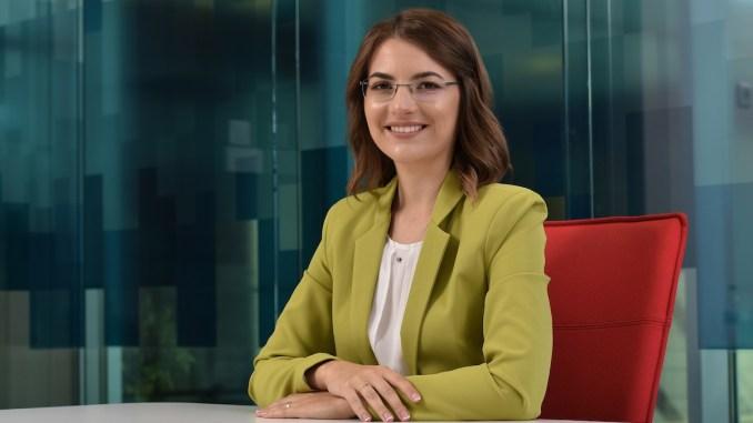 Silvia Rusei, LEED Green Associate în cadrul Colliers. FOTO Goya Public Relations
