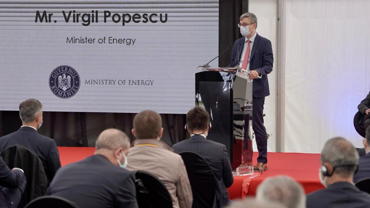 Virgil Popescu, Ministrul Energiei. FOTO KMG