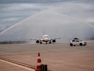 O nouă aeronavă pleacă la drum. FOTO SBZ