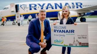 RyanAir are curse de pe Aeroportul Sibiu. FOTO SBZ