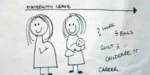 The dreaded end of maternity leave and deciding what to do
