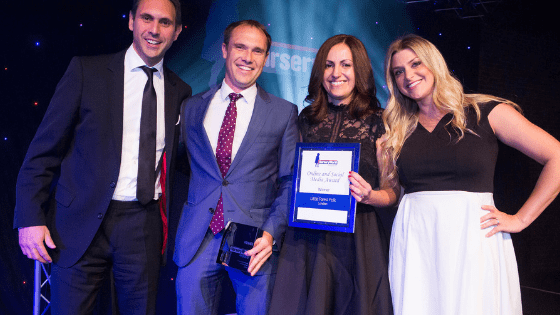 Nursery World Awards Best Online and Social 2017 - Bizstyler