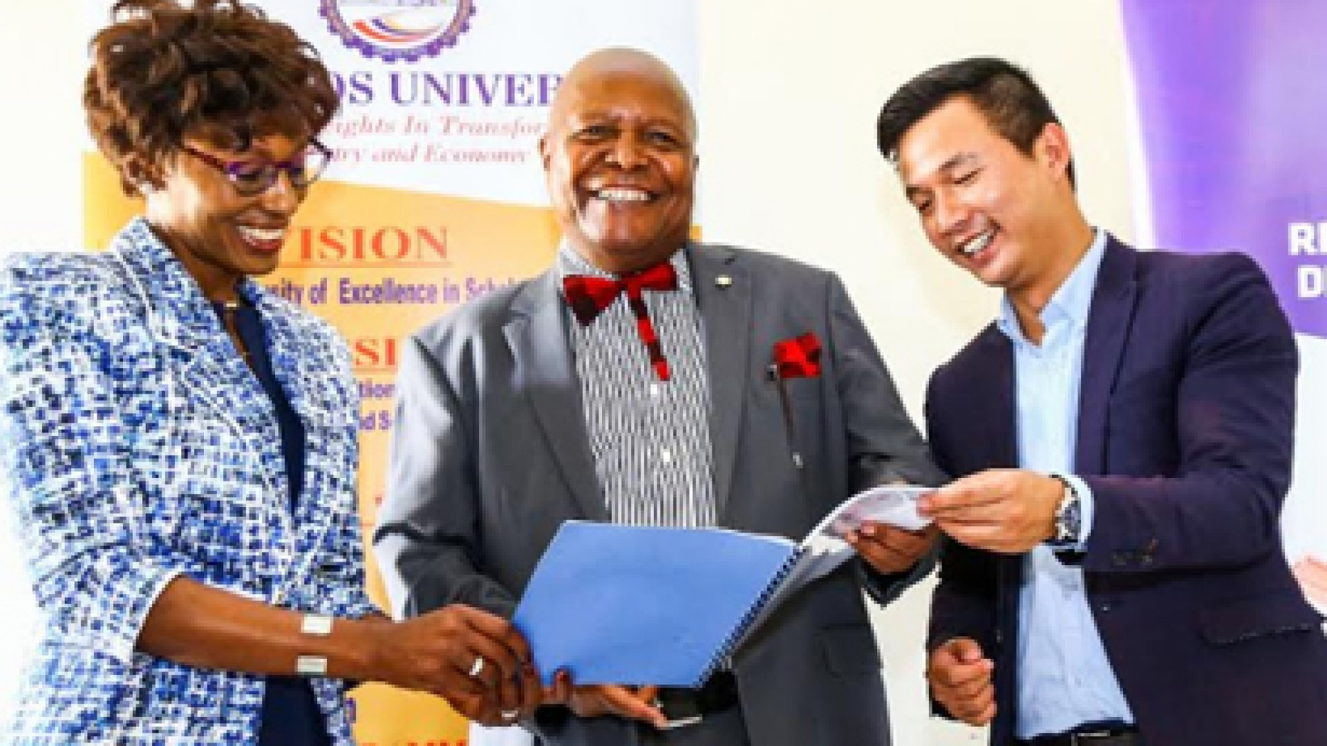 Konza Technopolis join hands with Huawei to set up an innovation hub at Machakos University