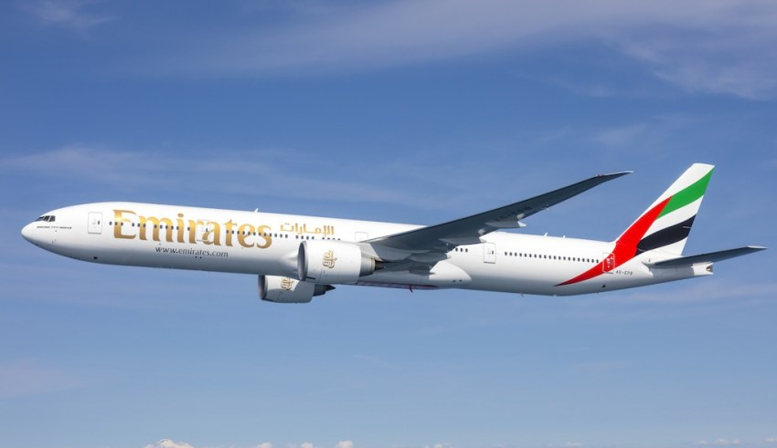 Image result for Emirates touches down in Auckland via Bali