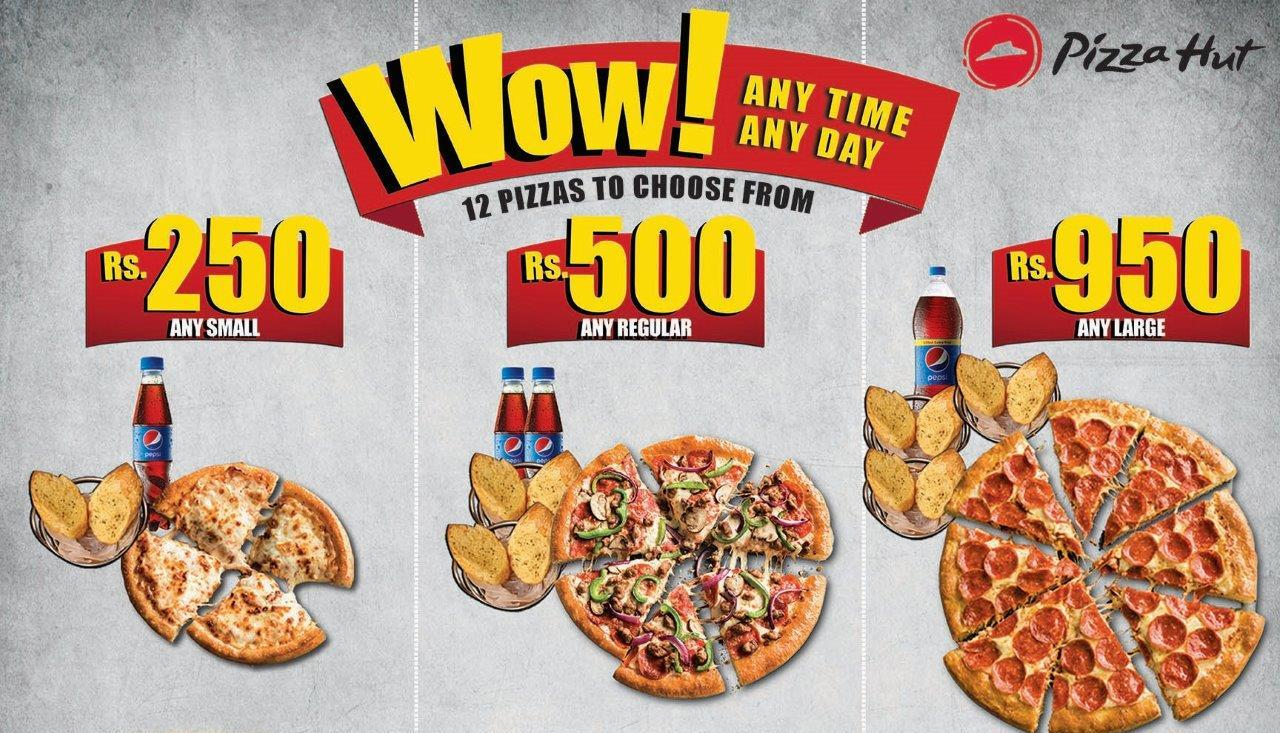 Pizza Hut Introduces Affordable Wow Deals Biz Today
