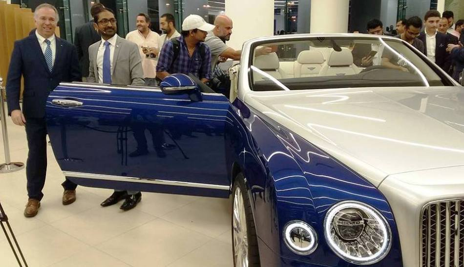 Bentley Grand Convertible By Mulliner Launched In Dubai Biz Today