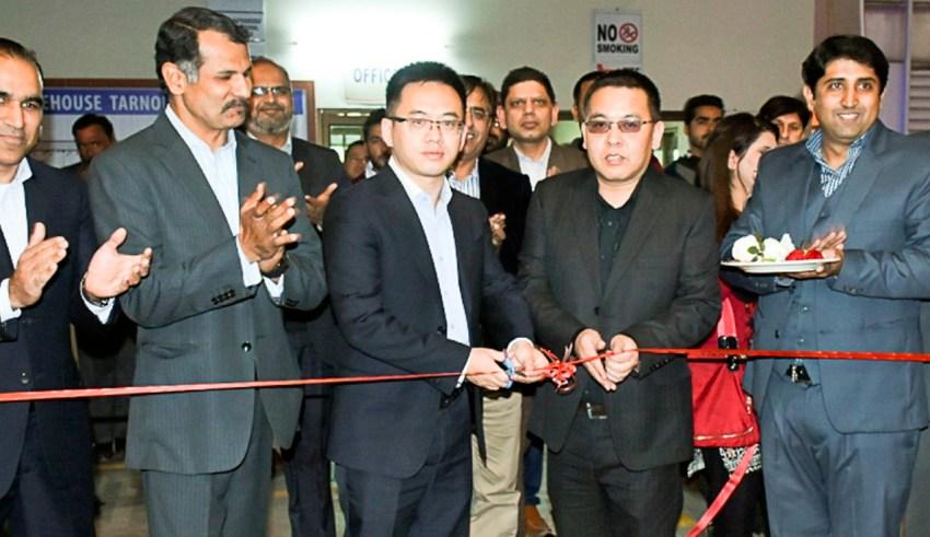 TCS inaugurates ZTE Warehouse in Tarnol - Biz Today