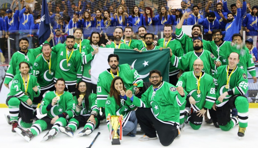 Shaheen Air International wins Lion City Ice Hockey