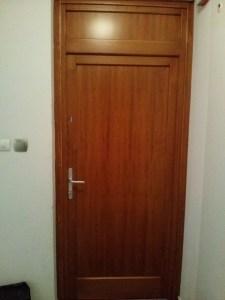 Rákospalota fa bejárati ajtócsere