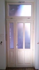 Szent Imre-kertváros fa bejárati ajtócsere