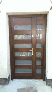 Csepel-Szabótelep fa bejárati ajtócsere