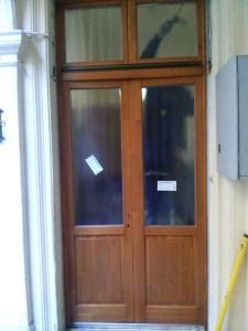 Újpéteritelep fa bejárati ajtócsere