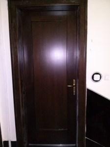 Gazdagrét fa bejárati ajtócsere