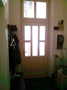 Halmierdő fa bejárati ajtócsere