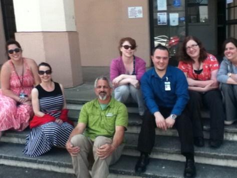 Participants with Joe, Del Norte County