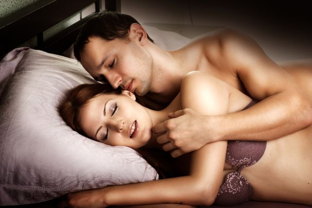 bigstock Sexy Couple Of Lovers On Bed 42099877