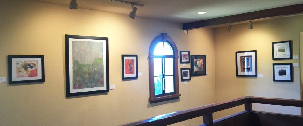 Exhibiting Artwork