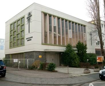 Neubau Neu-Apostolische Kirche, Köln-Ehrenfeld