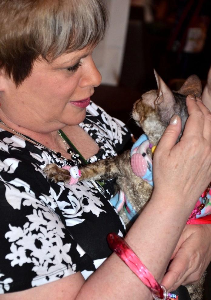 Carol Gittleman w cat
