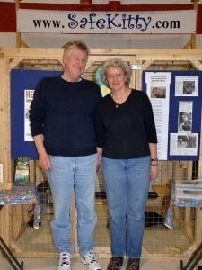 Safe Kitty builds cats outdoor enclosures