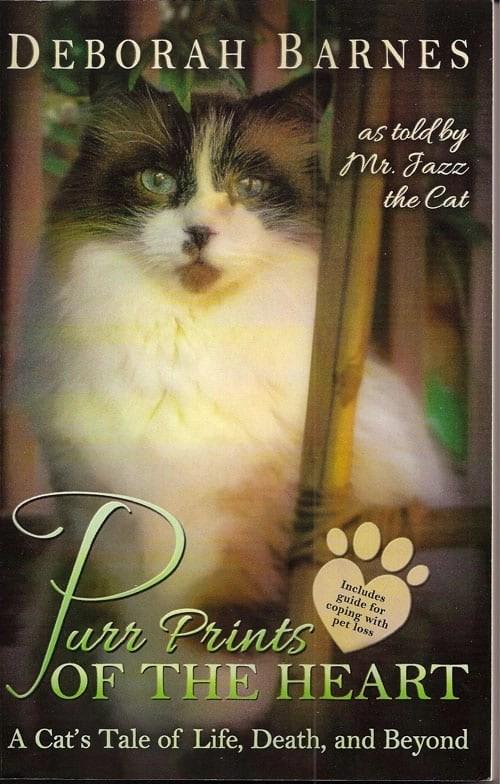 Deborah Barnes new book, Purr Prints of the Heart
