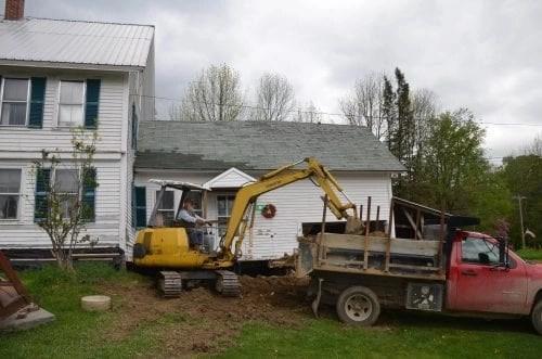 Major house renovations put kink in blogging time.