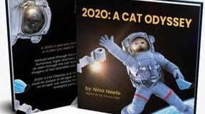 """Photo of book 2020"""" A Cat Odessey"""
