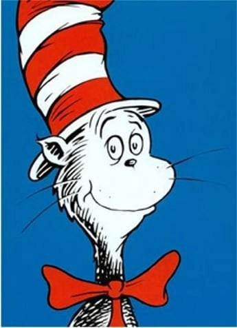 get your cat fix at the Dr. Seuss Museum where you will get a big dose of cat, and her we show a photo of The Cat in the Hat