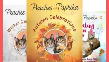 Photo of Peaches & Paprkia's Cat Celebration Book Series
