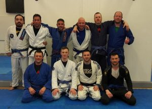 Group Photo after the Intermediate/Advanced Class at BJJ School Belfast
