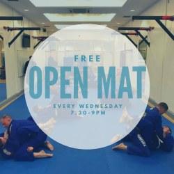 Free open mat on Wednesday, BJJ School Belfast