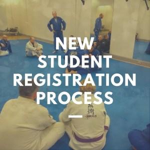 New Student Registration Process