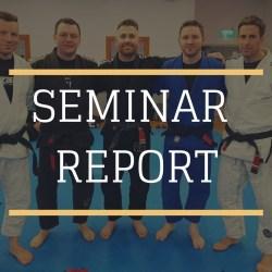 BJJ School Belfast MArtin McLaughlin Seminar Report 2019