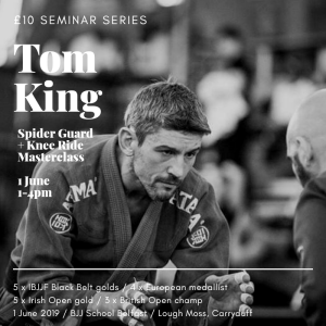 Tom King - BJJ School Belfast