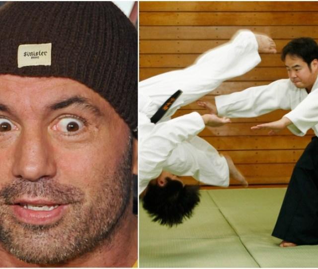 Joe Rogan Blasts Aikido Master Bring In A Division  Wrestler Good Luck